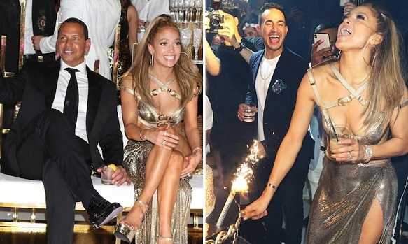 Jennifer Lopez Has Massive 50th Birthday Bash at Gloria Estefans Mansion