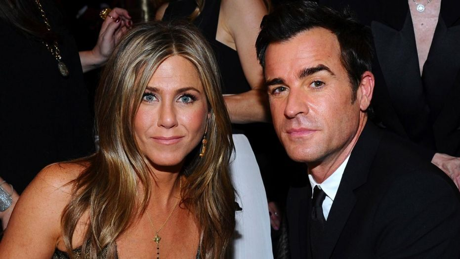 Did Justin Theroux and Jennifer Aniston reunite for their shared dogs funeral?