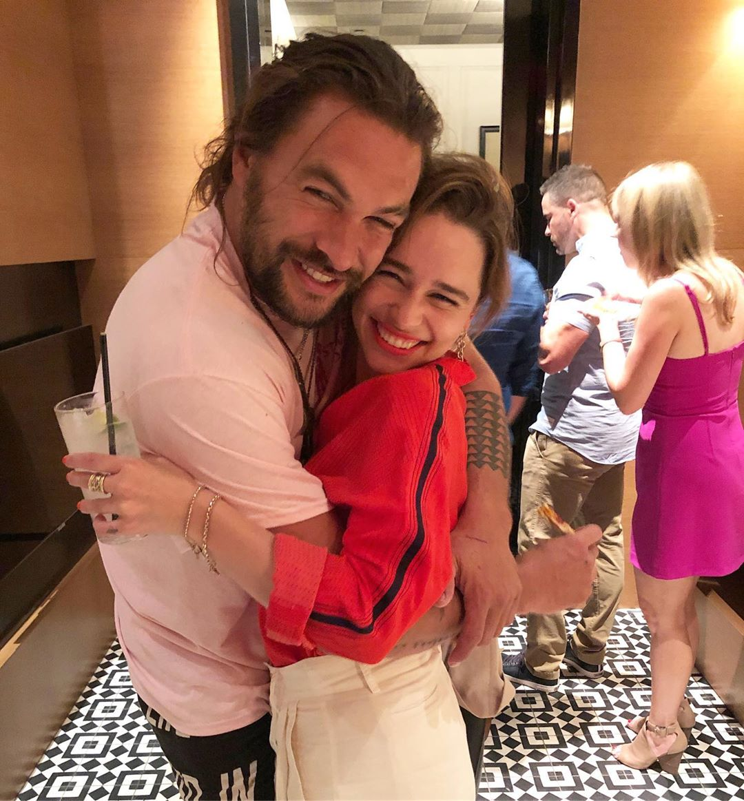 Game of Thrones' Emilia Clarke, Jason Momoa reunite as she wishes him an early happy birthday