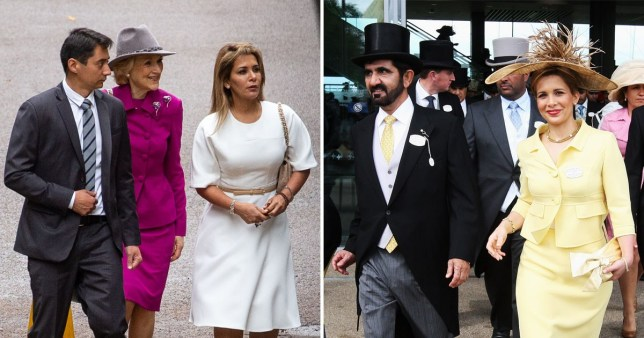 Dubai ruler's wife seen in public for first time sincLondon 'fleeing' as she takes him to court