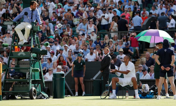 Rafael Nadal riled by Nick Kyrgios but sees him off despite underarm ace