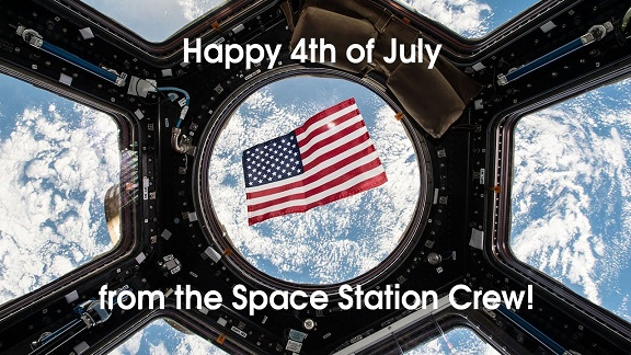 Happy 4th of July from the Space Station Crew - NASA