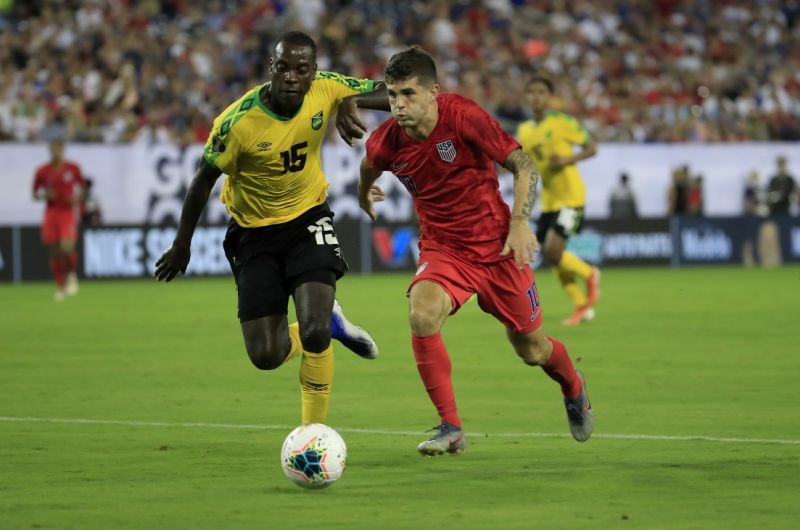 Pulisic, U.S. set up Gold Cup final with Mexico