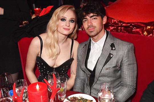 Joe Jonas and Sophie Turner Share Sweet First Photo of Their Wedding Day, See Her Fairytale Dress!