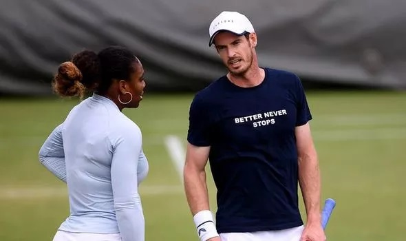 We need to talk about that - Serena Williams wants Andy Murray chat at Wimbledon