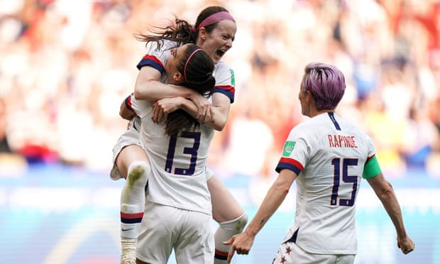 Megan Rapinoe on the spot as USA beat Netherlands to win Women's World Cup