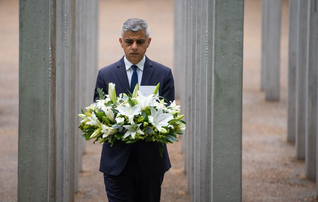Wreaths Laid On 14th Anniversary Of 7/7 London Bombings