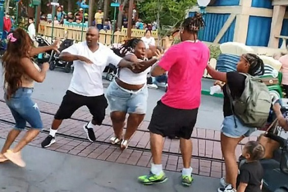 Anaheim Police Investigating Disneyland Fight in Viral Video