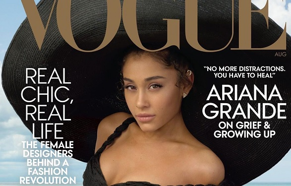Ariana Grande opens up about Mac Miller and Pete Davidson in Vogue