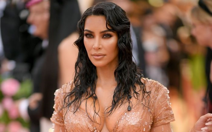 Kim Kardashians Painful Met Gala Corset Left Indentations on Her Back and Stomach