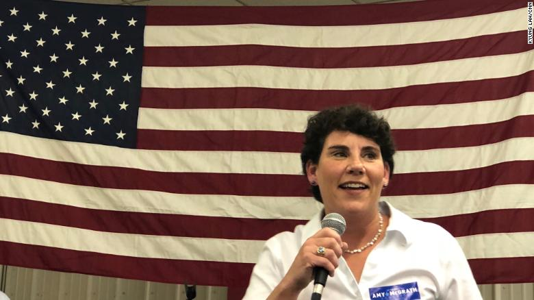 Amy McGrath announces bid to take on Sen. Mitch McConnell in 2020