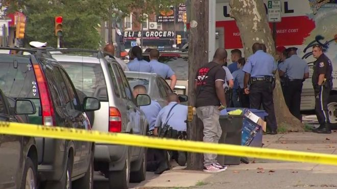 Philadelphia shooting: Gunman who injured six surrenders after stand-off