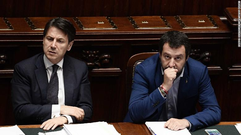Italys Prime Minister Giuseppe Conte says hell resign, attacks Salvini as irresponsible