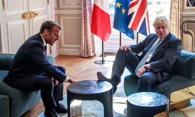 Macron tells Johnson Brexit backstop is indispensable