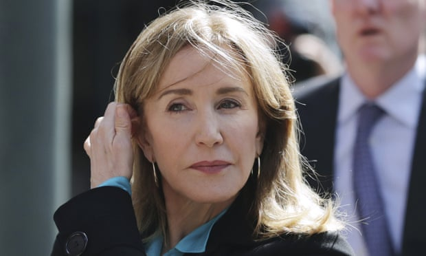 Felicity Huffman to be sentenced in college admissions bribery scandal case