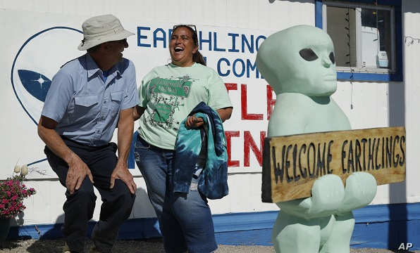 Nevada Desert Towns Prep for Possible Storm Area 51 Influx