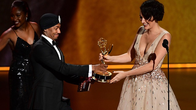 Emmys deliver to Amazon comedies, as Phoebe Waller-Bridge wins twice