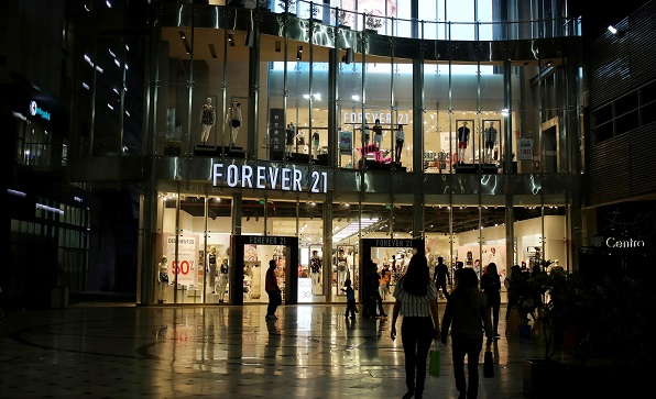 Forever 21s business model was way out of fashion