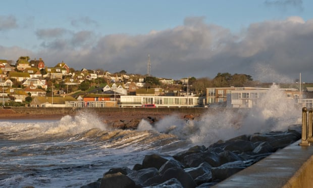 UK weather: Storm Brendan blows in across Britain
