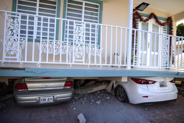 Early morning 5.8-magnitude earthquake jolts Puerto Rico; no injuries reported