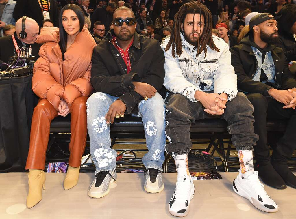 Kim Kardashian and Kanye West Enjoy Date Night at the 2020 NBA All-Star Game