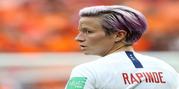 Megan Rapinoe condemns Donald Trump's racist tweets: 'It's disgusting, to be honest