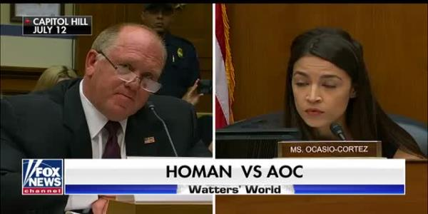Tom Homan tells Alexandria Ocasio-Cortez anyone who commits a crime will be separated from their child