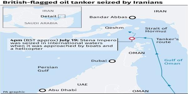 Government Did Not Take Eye Off The Ball Over Tanker Seized By Iran, Minister Says