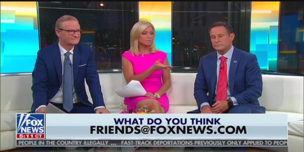 'Fox  Friends' Host Apparently Believes McDonald's Workers Make Tips