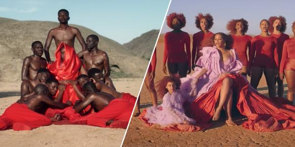 People say Beyoncés Lion King videos look similar to South African music video from 2018