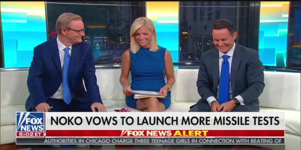 'Fox & Friends' Hosts Laugh as Brian Kilmeade Says Trump Has 'Policy of Underreacting'