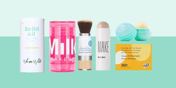 The Best Solid Beauty And Skincare Products That Will Make Packing For Your Holiday Easy