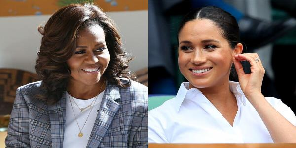 Michelle Obama Tells Meghan Markle Motherhood Is A Masterclass In Letting Go