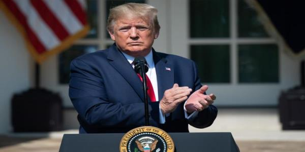 Trump news - live: President jokes about stage collapsing with 9/11 first responders as congress hints at looming impeachment