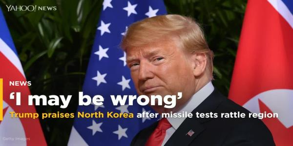 Trump plays down latest North Korea missile tests
