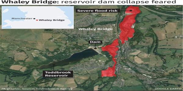 More Bad Weather Threatens Operation To Save Damaged Dam And Town Of Whaley Bridge