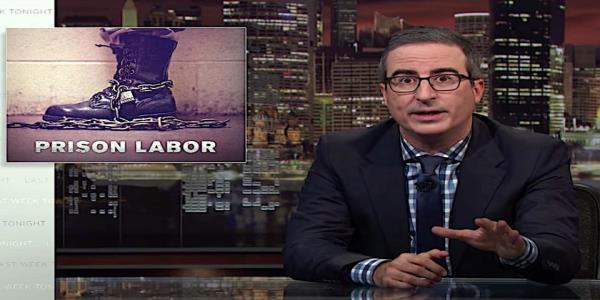 John Oliver examines U.S. prison labor, finds real-life Shawshank Redemption villains