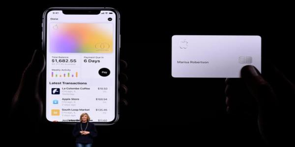 Apple is rolling out its new credit card