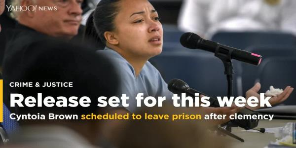 Cyntoia Brown scheduled to leave prison after clemency