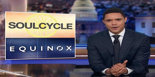 SoulCycle and Equinox patrons threaten to flee if owner hosts Trump fundraiser. The Daily Show has ideas