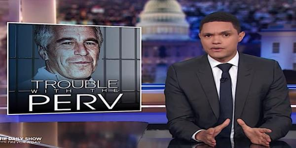 Trevor Noah argues that Jeffrey Epsteins death suggests the lack of a conspiracy, finally