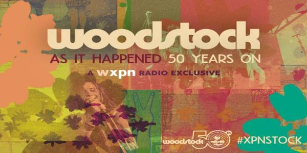 A radio station is streaming the entire Woodstock festival, minute by minute, starting at 5:07 pm Thursday