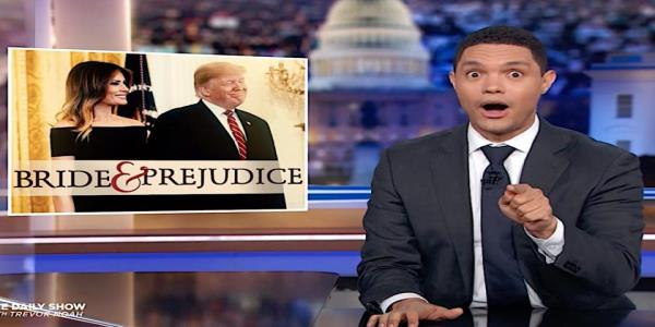 Trevor Noah ponders whether Trumps immigration policies are mostly a stealth way of dumping Melania