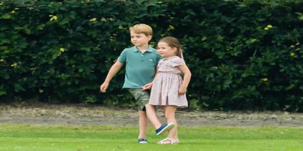 Prince George And Princess Charlotte Lean On Each Other – I Totally Get That Sibling Bond