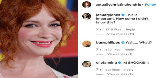 Christina Hendricks just revealed she had a small hand in American Beauty