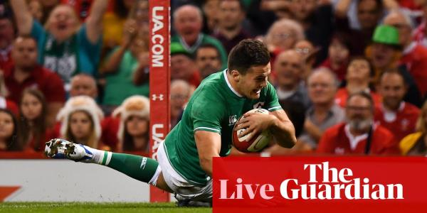 Wales v Ireland: Rugby World Cup warm-up – live!