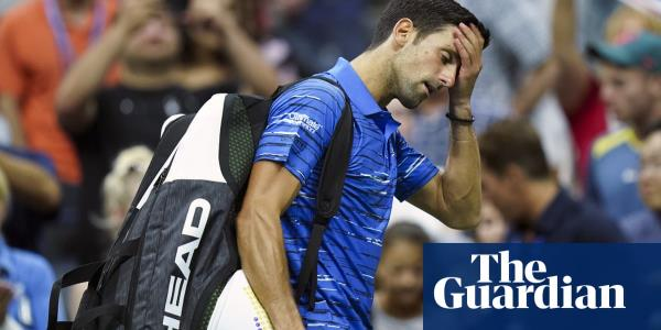 US Open title defence ends as Novak Djokovic departs to boos after retiring hurt