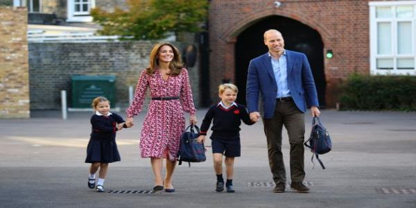 Princess Charlotte Smiles With Brother George In Official Photo On Her First Day Of School