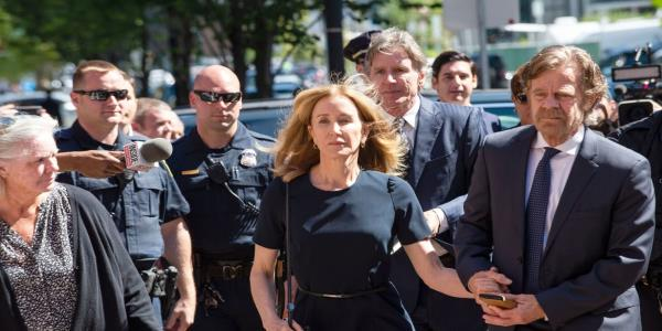 Felicity Huffman Gets Prison Time in College Admissions Scandal