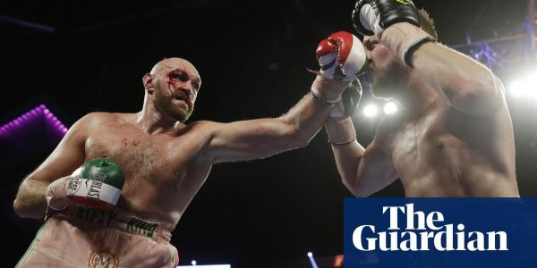 Tyson Fury survives Otto Wallin scare to stay on course for Wilder rematch